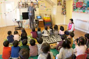 全日幼稚園 1日の流れ アクトン 英語レッスン