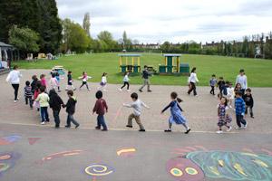 土曜幼稚園 1日の流れ 戸外遊び